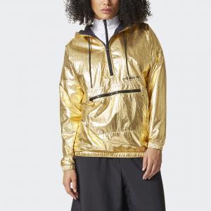 Ветровка Golden  Originals adidas. Цвет: золотой