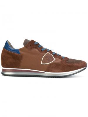 Кроссовки Tropez Philippe Model. Цвет: коричневый
