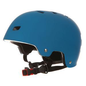 Шлем для скейтборда  Deluxe Helmet Matte Blue Bullet. Цвет: голубой