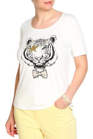 Блуза SARAH KERN. Цвет: белый