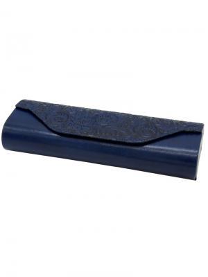 Футляр для очков Germes. Цвет: синий