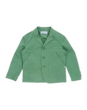 Пиджак MIMISOL. Цвет: зеленый