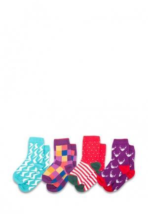 Комплект детских носков Sammy Icon. Цвет: разноцветный