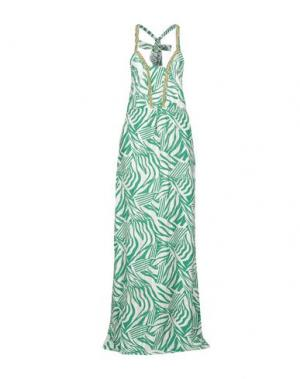 Длинное платье INTROPIA. Цвет: зеленый