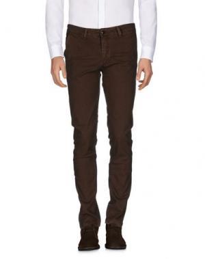 Повседневные брюки SSEINSE. Цвет: какао