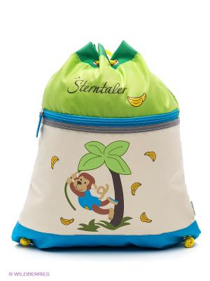 Спортивная сумка Sterntaler. Цвет: кремовый, серо-зеленый