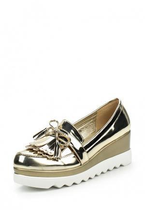 Туфли Sweet Shoes. Цвет: золотой