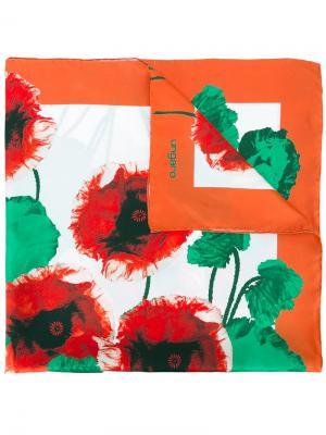 Шарф с цветочным принтом Emanuel Ungaro. Цвет: многоцветный