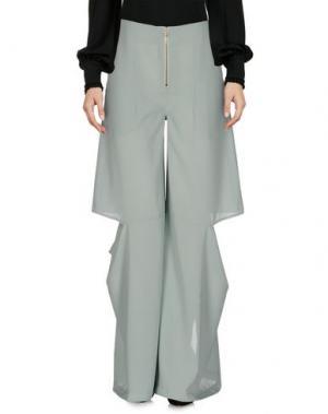 Повседневные брюки ECKHAUS LATTA. Цвет: светло-зеленый
