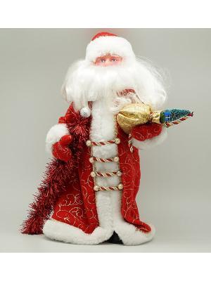 Фигурка декоративная Дед мороз 41см красный Яркий Праздник. Цвет: красный