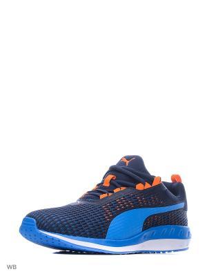 Кроссовки Flare 2 Dash Puma. Цвет: синий, лазурный, оранжевый, белый