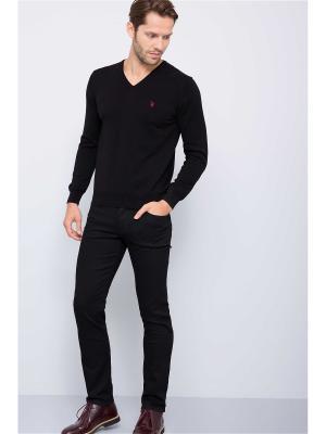 Джинсы U.S. Polo Assn.. Цвет: черный