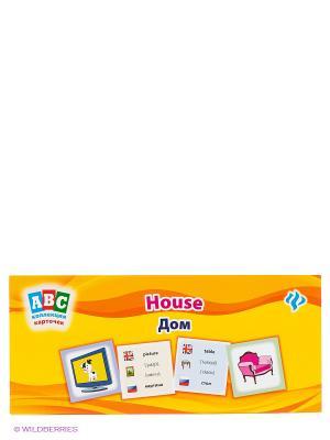 Коллекция карточек Дом. House Феникс-Премьер. Цвет: желтый