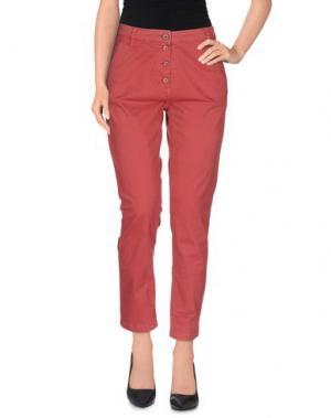Повседневные брюки GOOD MOOD. Цвет: кирпично-красный