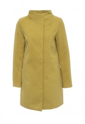 Пальто Top Secret. Цвет: желтый