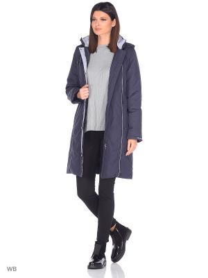 Пальто INKERI Maritta. Цвет: синий