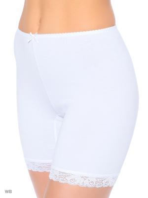 Трусы-панталоны ФЭСТ. Цвет: белый