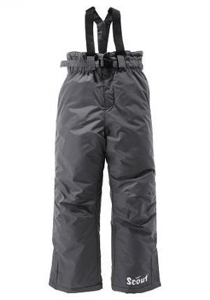 Лыжные брюки, Scout. Цвет: серый