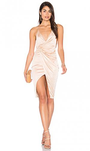 Платье carrie LIONESS. Цвет: беж