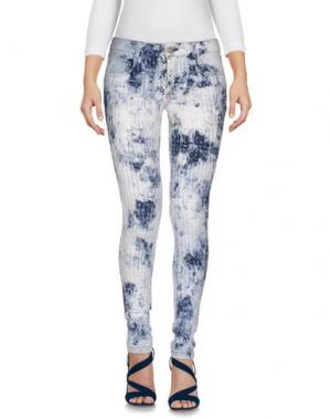 Джинсовые брюки LUCA TAIANA. Цвет: синий