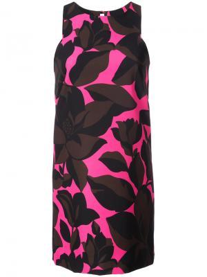 Macro floral print dress Milly. Цвет: розовый и фиолетовый