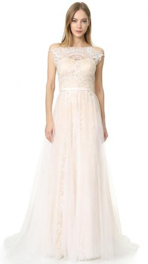 Вечернее платье Harlow Catherine Deane. Цвет: устрица/шампанское