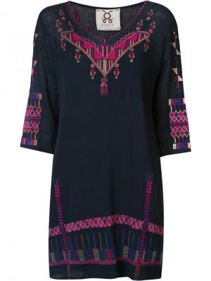 Платье Jacinta Figue. Цвет: синий