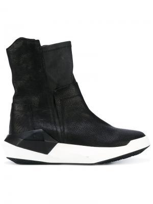 Ботинки по щиколотку Cinzia Araia. Цвет: чёрный