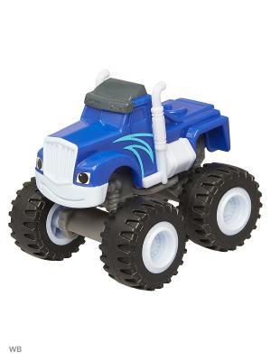 Базовые машинки из пластика Mattel. Цвет: синий