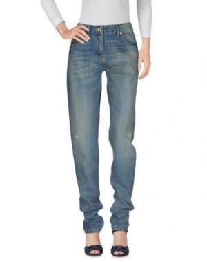 Джинсовые брюки ELISABETTA FRANCHI JEANS for CELYN B.. Цвет: синий