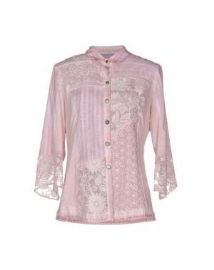 Pубашка ANGELA MELE MILANO. Цвет: пастельно-розовый