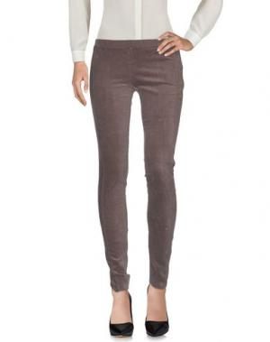 Повседневные брюки GUARDAROBA by ANIYE. Цвет: свинцово-серый