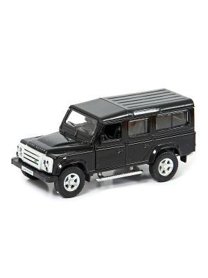Машина металлическая Land Rover Range Defender 110, 1:32. HOFFMANN. Цвет: черный