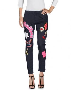 Джинсовые брюки SUPERPANTS. Цвет: стальной серый