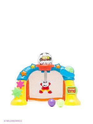 Спортивные ворота Winner Toys. Цвет: синий, оранжевый, желтый