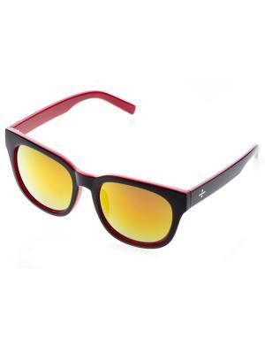Очки солнцезащитные Bijoux Land. Цвет: бордовый