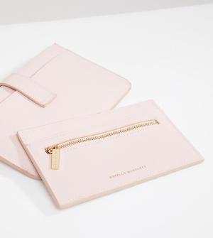 Estella Bartlett Дорожный бумажник с надписью Pink Skies Ahead и кошелек для карт розов. Цвет: розовый