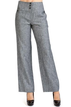 Брюки Isaco & Kawa. Цвет: серый