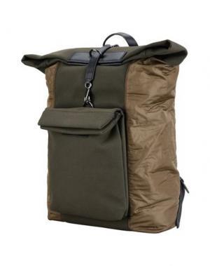 Рюкзаки и сумки на пояс MISMO. Цвет: зеленый-милитари
