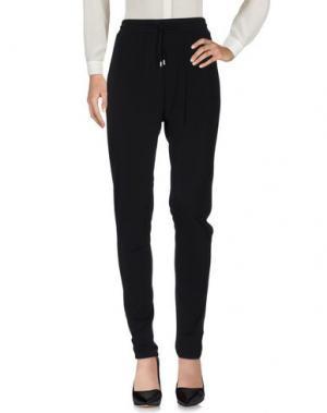 Повседневные брюки GANT. Цвет: черный