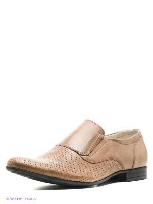Туфли BELWEST. Цвет: светло-коричневый