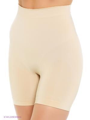Корректирующие шорты Controlbody. Цвет: бежевый