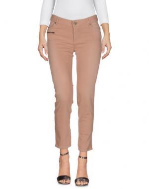 Джинсовые брюки BONPOINT. Цвет: телесный
