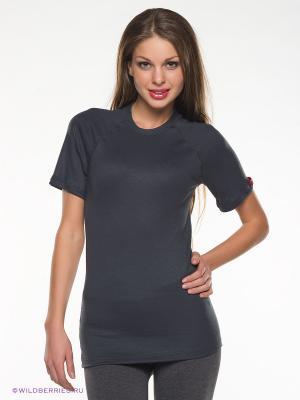Термобелье-футболка BlackSpade. Цвет: антрацитовый