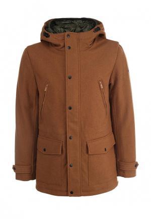Пальто Only & Sons. Цвет: коричневый