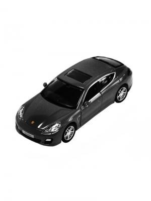 Машинка Инерционная Porsche Panamera Turbo, Черная (1:32) (PS-554002-BL) Pit Stop. Цвет: черный