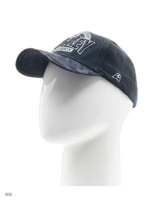 Бейсболка КХЛ Новосибирск Atributika & Club. Цвет: черный