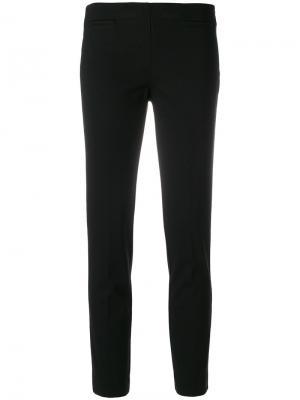Укороченные брюки скинни Kiltie. Цвет: чёрный