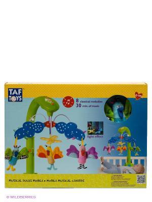 Игрушка Музыкальная подвеска TAF TOYS. Цвет: голубой, салатовый