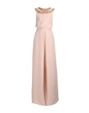 Длинное платье RAOUL. Цвет: песочный